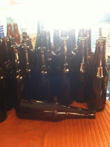 Pauls beer bottles